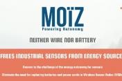 Moïz veut déployer des capteurs sans fil ni pile pour l'industrie 4.0