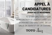 Appel à candidatures : Rencontrez TOTO, le plus grand fabricant japonais d'équipement pour la maison
