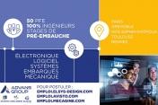 [Emplois] Advans Group recrute 50 stagiaires en ingénierie électronique, logicielle ou mécanique