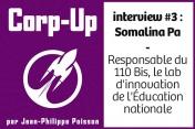 [Podcast] Echange avec Somalina Pa, du Lab d'innovation de l'Education nationale