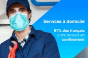 [Infographie] 61% des Français ont fait appel aux services à domicile pendant le confinement