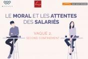 [Infographie] - Le moral et les attentes des salariés au second confinement