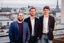 Thomas Ricouard, Nicolas Princen et Arthur Darcet, cofondateurs de Glose.