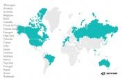 Le réseau 42 Network fédère 33 campus partenaires à travers 22 pays