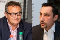 Frédéric Gimenez, chief digital officer et directeur de la digital factory de Total, et Christophe Huerre, DSI groupe de Thales