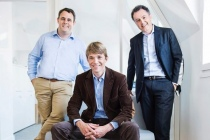 Marc Fournier, Xavier Lorphelin et Philippe Hayat, cofondateurs de Serena.