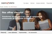 [Emplois] Sopra Steria annonce plus de 2700 recrutements en 2021
