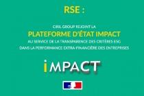 Ciril Group rejoint la plateforme d'Etat Impact.