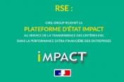 RSE: Ciril Group rejoint la plateforme d'Etat Impact