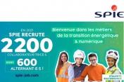 [Emplois] SPIE France annonce le recrutement de 2 200 collaborateurs