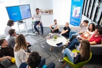 L'équipe de la start-up Edflex.