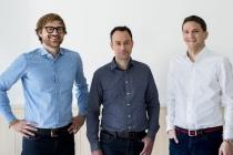 Vincent Huguet, co-fondateur et CEO, Hugo Lassiège, co-fondateur et CTO et Alexandre Fretti, Managing Director.