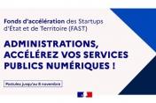 [Appel à candidatures] 10e édition du Fonds d'accélération des Startups d'État et de Territoire (FAST)